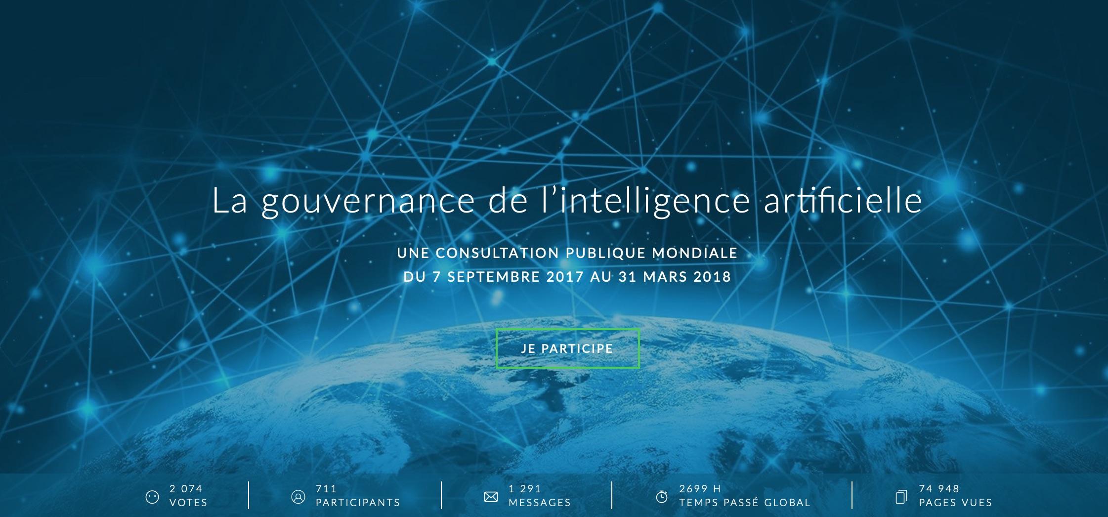 gouvernance mondiale IA