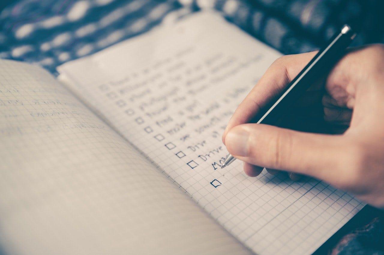 checklist raison d'être
