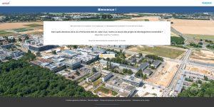 page accueil université Saclay