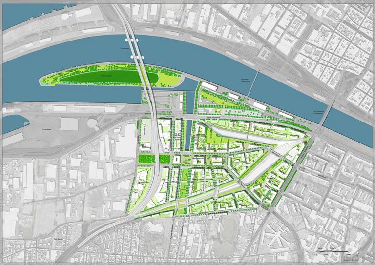 Projet aménagement Rouen-Flaubert