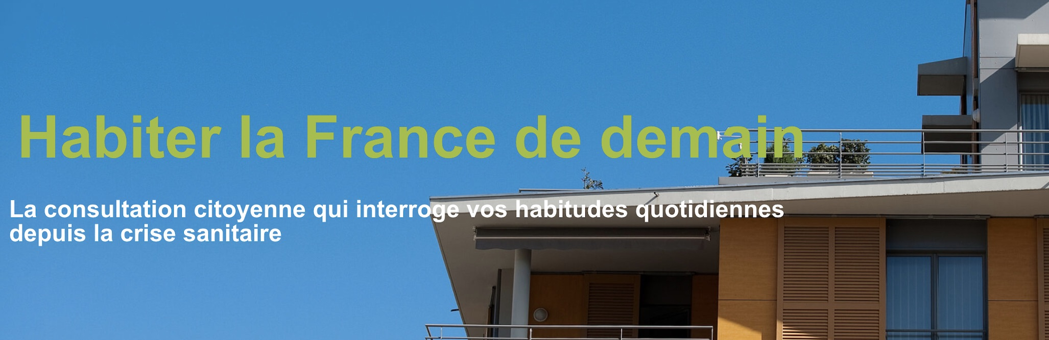 Habiter France demain
